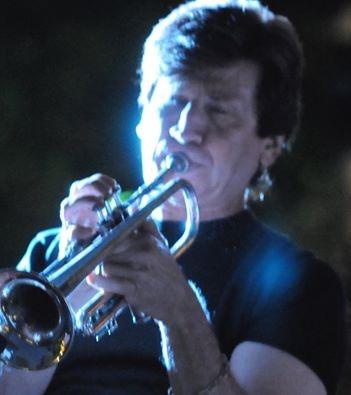 Trumpeter Gordon James
