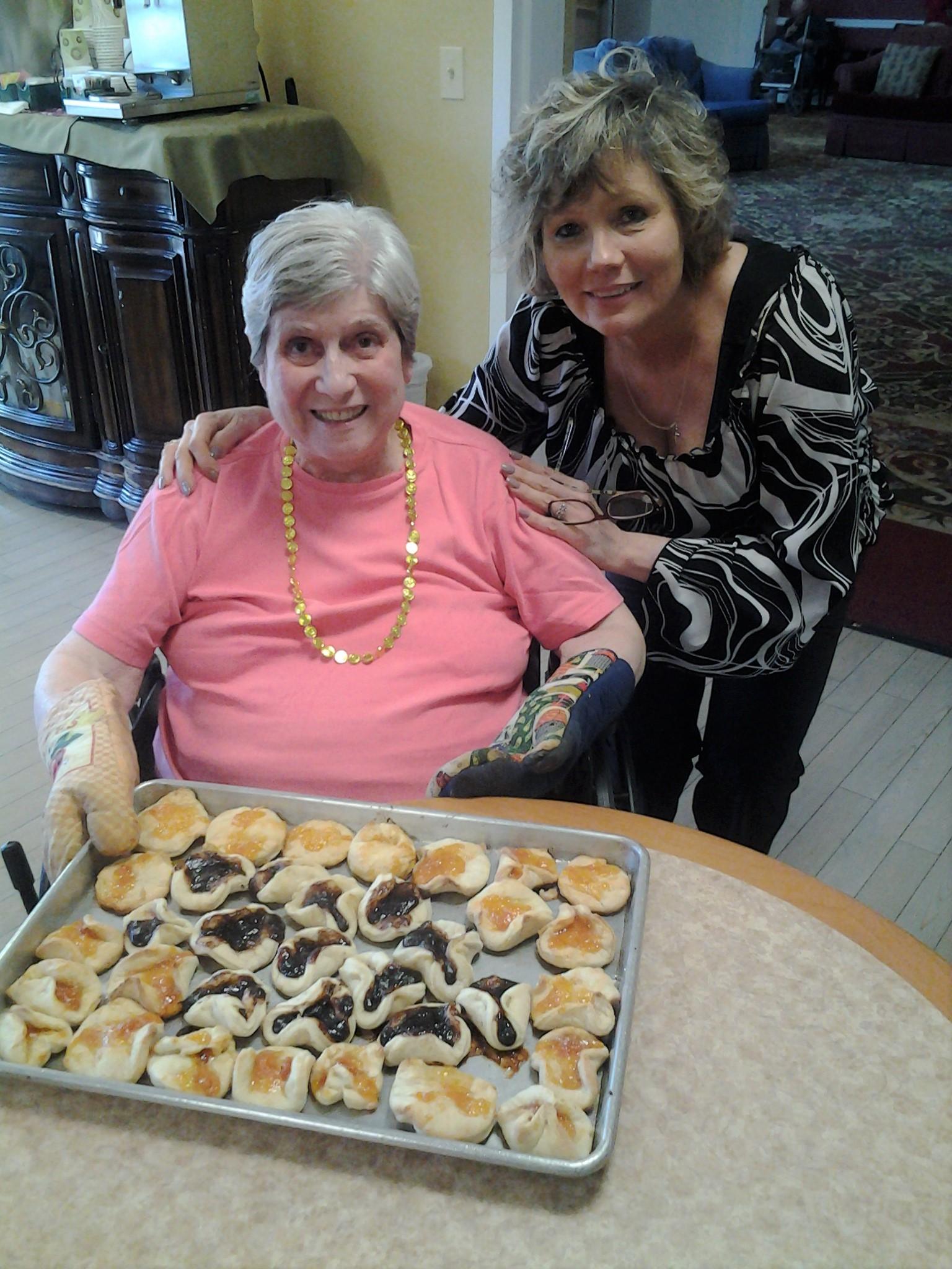 Joan Blackman (left) Susan Porecca DRS (me) (right)