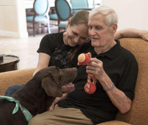 Spring Hills Pet-Friendly Senior Living