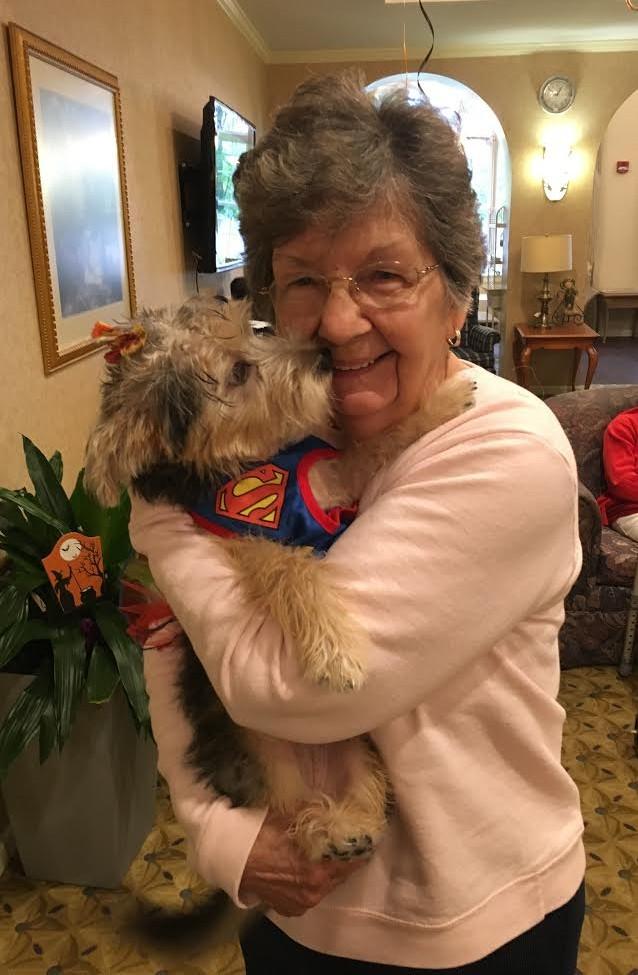 Pet Programs at Assisted Living Facilties